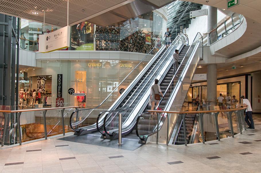 Galerie i centra handlowe wciąż notują duże spadki