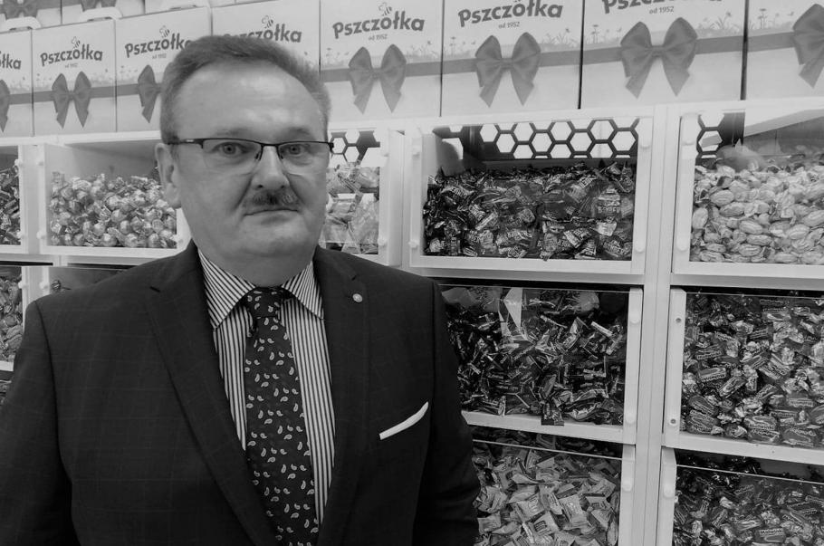 Nie żyje Leszek Wertejuk, prezes zarządu Fabryki Cukierków Pszczółka