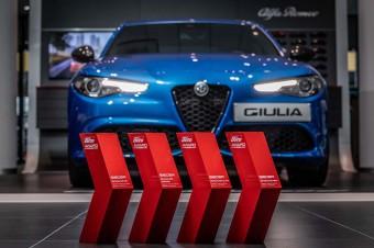 """Alfa Romeo Giulia zwycięża w konkursie """"SPORT AUTO AWARD 2020"""""""