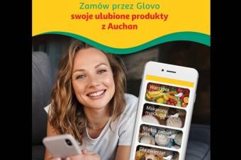 Auchan: dynamiczny wzrost zamówień poprzez aplikację Glovo