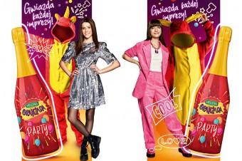 Gwiazdy w najnowszej kampanii Oranżady Hellena: Viki Gabor, Roxie Węgiel i… Oranżada Hellena Party