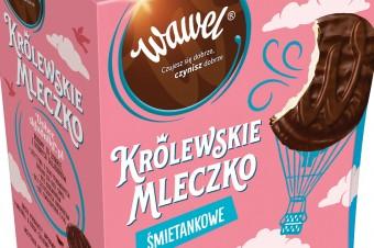 Waniliowe i śmietankowe – Królewskie Mleczko z Wawelu teraz w dwóch atrakcyjnych smakach