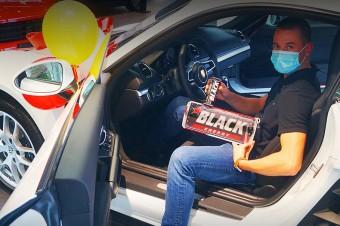 Porsche ze Złotej Loterii Black rozlosowane!