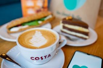 Sieć kawiarni Costa Coffee podsumowuje kolejny miesiąc współpracy z Too Good To Go