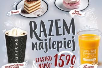 """Lodziarnio-kawiarnie Grycan – Lody od pokoleń wracają  z nową ofertą """"Razem najlepiej""""!"""