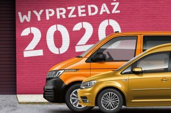 Volkswagen Samochody Dostawcze: wyprzedaż modeli rocznika 2020