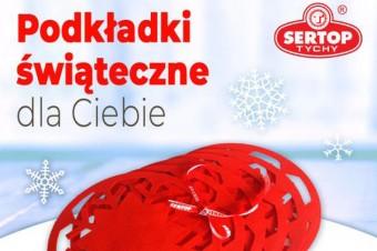 """Sertop – konkurs """"Świąteczne podkładki dla Ciebie"""""""