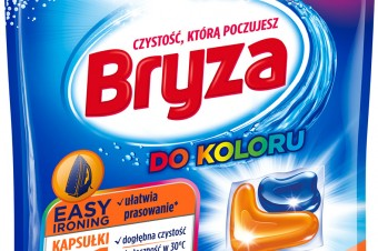 Innowacyjne kapsułki do prania Bryza 5w1 Easy Ironing