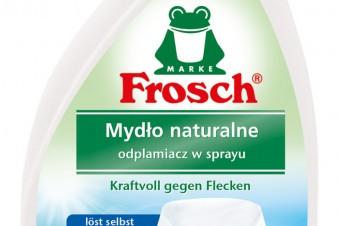 Ekologiczne usuwanie plam z marką Frosch