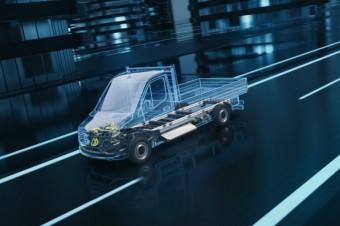 Mercedes-Benz Vans przedstawi nową generację eSprintera