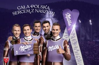 """Trwa trzecia odsłona kampanii  """"Milka. Sercem z Naszymi"""". Właśnie wystartowała ogólnopolska loteria konsumencka"""