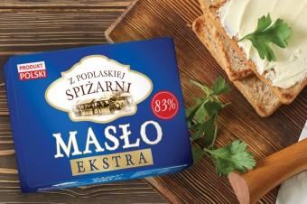Grupa Chorten wprowadza do marki własnej masło extra Z Podlaskiej Spiżarni