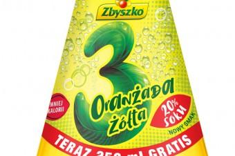 Kultowa seria Zbyszko 3 Owoce gazowane z 20% zawartością soku!