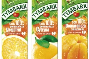Nowe soki 100% od Tymbarku