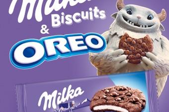 Nowość w portfolio Milka & Oreo – ciastka Milka Oreo Sensations