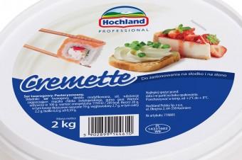 Hochland Cremette – do zastosowań na słodko i na słono