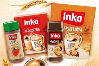 Nowe opakowania kaw zbożowych marki Inka