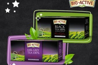Najlepsze gatunki herbaty od marki Big-Acitve – portfolio herbat czarnych