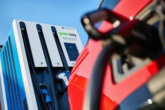Auchan Krasne z ładowarkami do samochodów elektrycznych od GreenWay