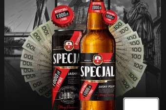 Codziennie wygrywaj tysiące i piwa w loterii marki Specjal