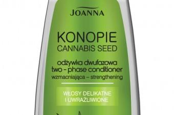Konopie Joanna - jedwabisty eliksir i odżywka dwufazowa