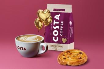 Costa Coffee ze słodką promocją walentynkową