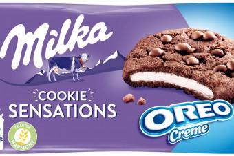 Ciastka Milka Oreo Sensations