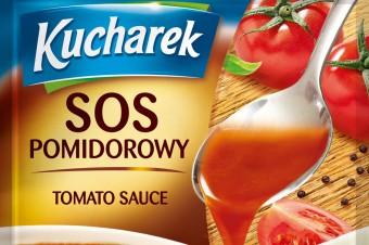 Nowe sosy Kucharek - pomidorowy i grzybowy