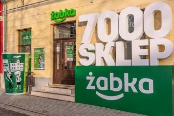 7-tysięczny sklep sieci Żabka otwarty w zabytkowym Bieczu