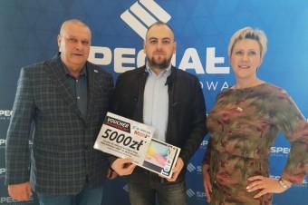 Specjał rozdaje kolejne nagrody - ponad 800 nagród wartych 250 tys. złotych