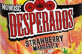 Desperados Strawberry Margarita 3%. Dwa kultowe miksy z tequilą w jednej butelce