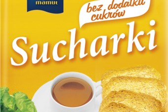 Nowe Sucharki z dodatkiem oleju rzepakowego od firmy Mamut Polska