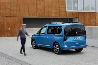 Volkswagen Caddy 5 – kompaktowy rodzinny minivan