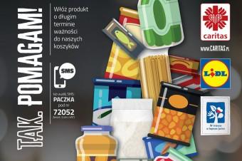 Zbiórka żywności w sklepach Lidl w całej Polsce