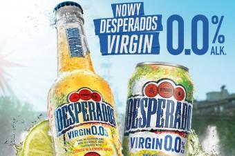 Desperados Virgin 0.0% - bezalkoholowy wariant od lidera rynku piw smakowych