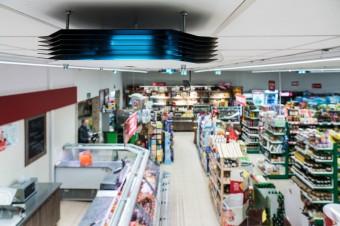 """Sklepy """"Społem"""" podnoszą bezpieczeństwo i komfort robienia zakupów dzięki dezynfekcji Philips UV-C"""