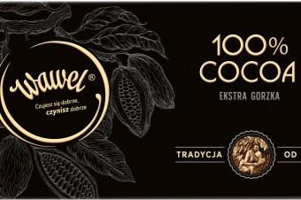100% cocoa i 100% smaku w nowej tabliczce z Wawelu