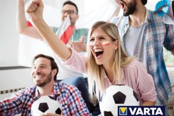 3:1 dla Ciebie! VARTA rozgrzewa fanki i fanów piłkarskich emocji!