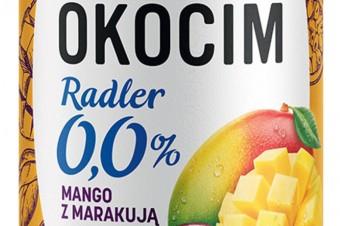 Egzotyczny smak dołącza do okocimskich Radlerów 0,0% - Okocim Radler 0,0% Mango z marakują