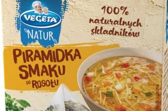 Odkryj pyszny smak swojej zupy. Piramidki Smaku Vegeta Natur