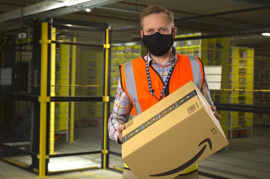 Tomasz Michalski, dyrektor centrum Amazon w Gliwicach