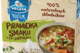 Piramidki Smaku Vegeta Natur. Odkryj pyszny smak swojej zupy
