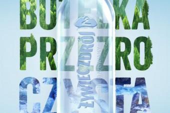 Pierwsza w Polsce przezroCZYSTA butelka od Żywiec Zdrój – bez etykiety i w 100% z recyklingu