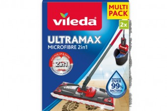 Nakładka do mopów: Vileda Ultramax i Ultramat – teraz dostępna w dwupaku