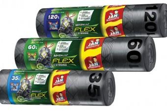 Innowacyjne worki na śmieci Magnum Flex & Strong