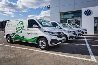 Żabka powiększa swoją flotę o elektryczne Volkswageny Transportery 6.1 ABT