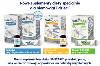 NANCARE – NOWE suplementy diety stworzone dla najmłodszych