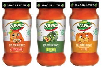 Warzywne sosy Łowicz dla najmłodszych