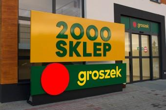 Sieć Groszek ma już 2 000 sklepów