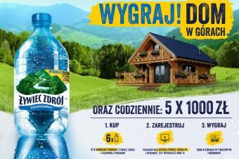 Wygraj dom w górach z Żywiec Zdrój – startuje nowa loteria marki!